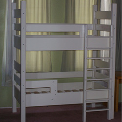 Solid Pine Toddler Bunk Bed