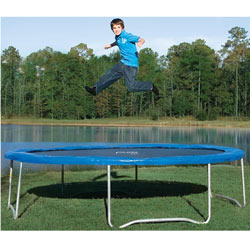 Super Fun Outdoor Trampoline