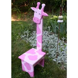 Whimsical Giraffe Chair