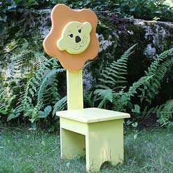 Whimsical Lion Chair