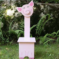 Whimsical Pig Chair