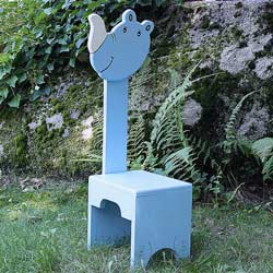 Whimsical Rhinoceros Chair