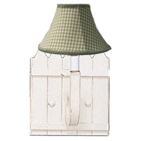 Picket Fence Wall Sconce