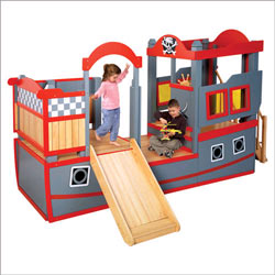 Pirate Ship Play Loft