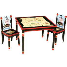 Pirate Table and Chairs