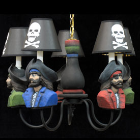 Pirates Chandelier