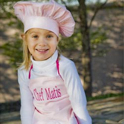 Kids Personalized Chef Apron & Hat
