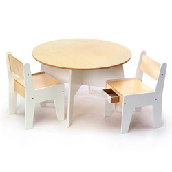 Play-A-Round Activity Table and Chair Set