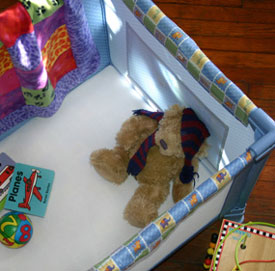 Fleece Playard Sheet