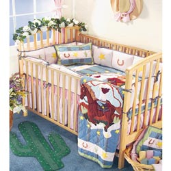 Lil Yeehaw Crib Bedding