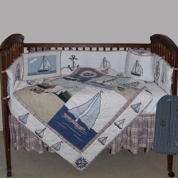Nautical Crib Bedding By Patch Magic Group
