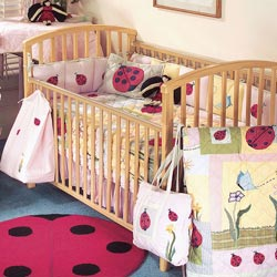 Lady Bug Crib Bedding
