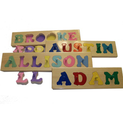 Handmade Personalized Name Puzzle