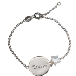 Personalized Little Shapes Chain Bracelet