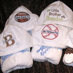 Personalized Hooded Towels
