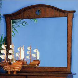 Shiver Me Timbers Small Dresser Mirror