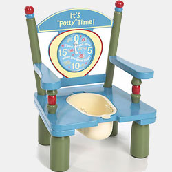 It's Potty Time Potty Chair