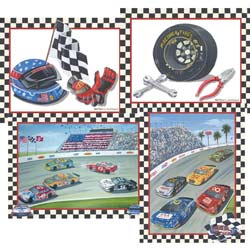 Race Cars Wall Art
