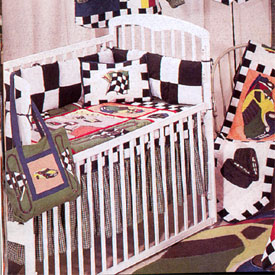 Race Car Crib Bedding