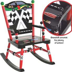 Child's Race Car Rocker