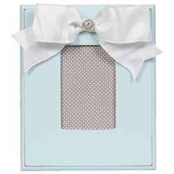 Embellished Light Blue Table Frame