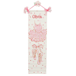 Personalized Ballet Growth Chart