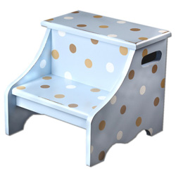 Polka Dot Step Stool