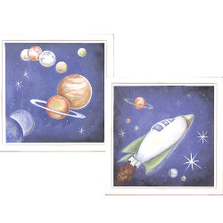 Space Exploring Wall Art Collection