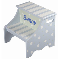 Twinkle Blue Step Stool