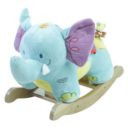 Personalized Elijah Elephant Rocker