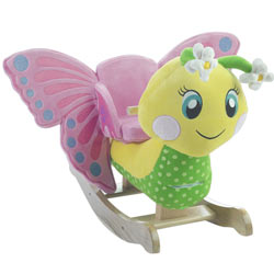 Personalized Flutter Butterfly Rocker