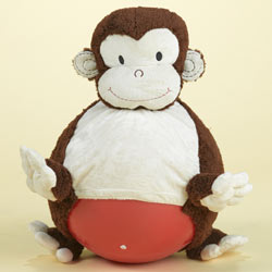 Mocha Monkey Bouncersize Ball