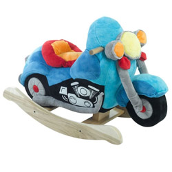 Personalized Lil' Biker Motorcycle Rocker
