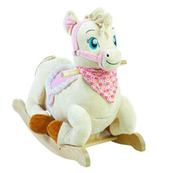 Personalized Princess Pony Rocker