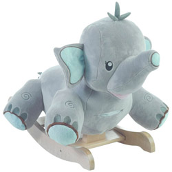 Personalized Stomp the Elephant Rocker