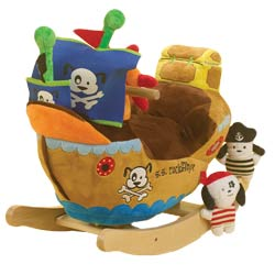 Ahoy Doggie Pirate Ship Rocker