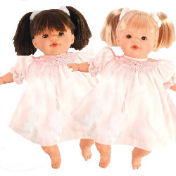 Alisa and Adrian Twin Dolls