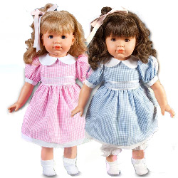 Samantha and Sandra Twin Dolls