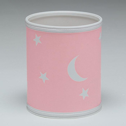 Moon and Stars Wastebasket