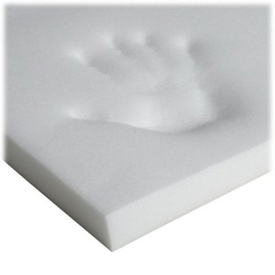 Memory foam crib mattress topper for crib/toddler bed size 28x52