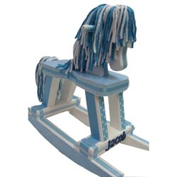 Little Boy Blue Rocking Horse