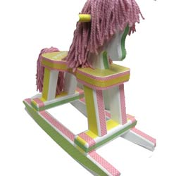 Polka Dottie Rocking Horse