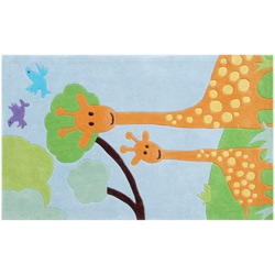 Giraffe rug for Giraffe childcare fees