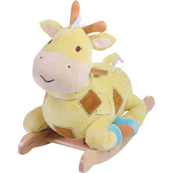 Personalized Patch the Giraffe Plush Rocker