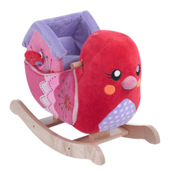 Personalized Sweetie Bird Plush Rocker