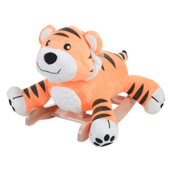 Personalized Tiggy Tiger Plush Rocker