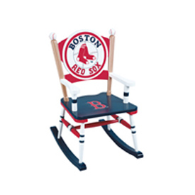 Red Sox Rocking Chair