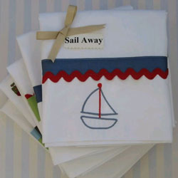 Sail Away Twin/Full Sheet Set