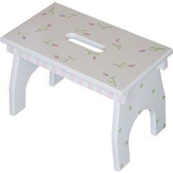 Rosebuds Step Stool