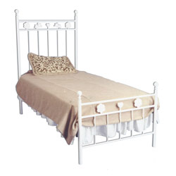 Rosette Iron Bed
